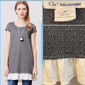 Anthropologie   Clu + Willoughby Flutter Dress.